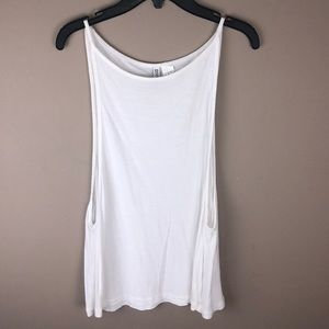 Divided by H&M White Tank Top